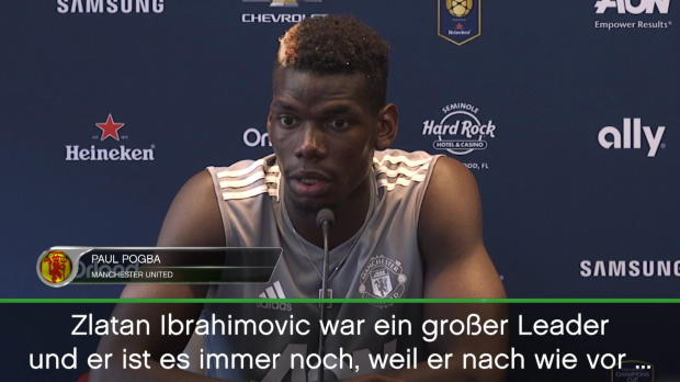 """Paul Pogba: """"Ich will Uniteds Leader werden"""""""
