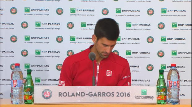 """Djokovic über Darcis: """"Ich liebe Haie"""""""