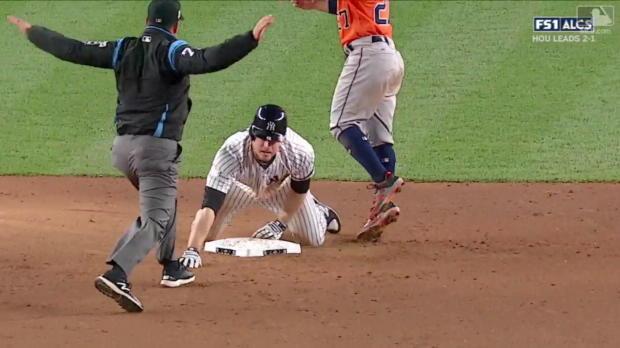 Yankees-Comeback: Vier Runs im achten Inning