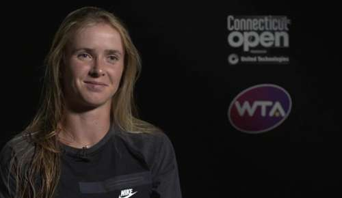 Svitolina Interview: WTA New Haven SF