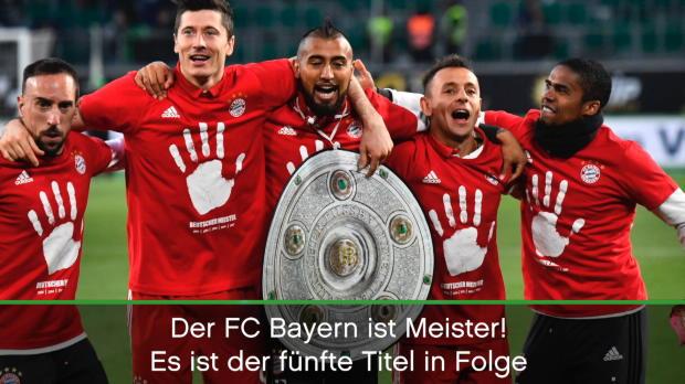 5. Titel in Folge! Bayerns Weg zur Schale