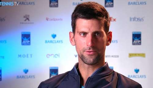 Djokovic Interview: ATP World Tour Finals RR