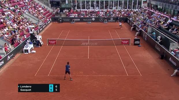 Tennis : Bastad - Gasquet s'incline contre Londero après un long combat