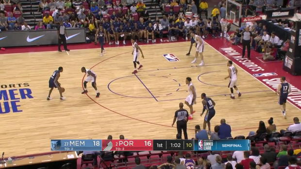 WSC: Brandon Goodwin (27 points) Highlights vs. Portland Trail Blazers