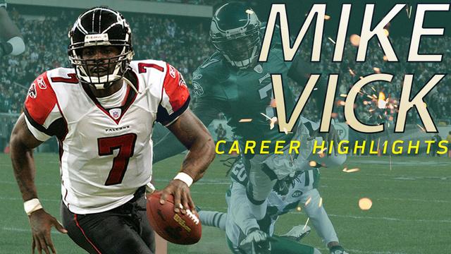 Michael Vick career highlights | NFL Legends