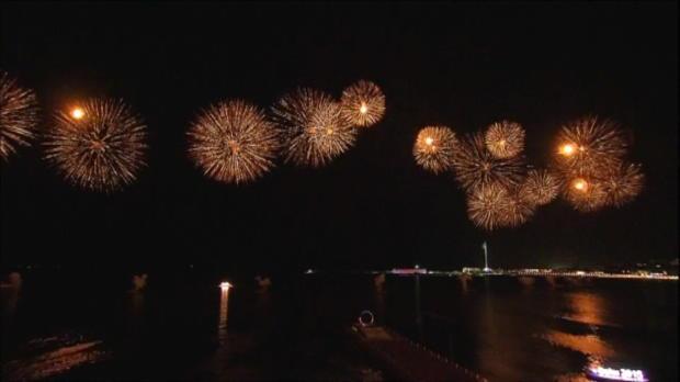 Europaspiele starten mit Feuerwerk und Unfall