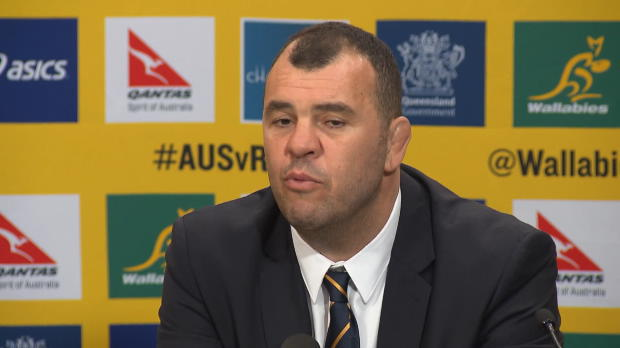Four Nations - Cheika f�licite ses joueurs