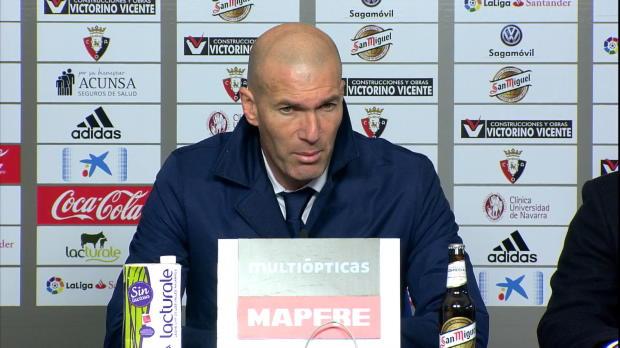 """Zidane: """"Erst ausruhen, dann Champions League"""""""