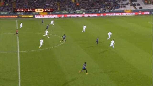 L.Europa : C.Brugge 1-1 FC Copenhague