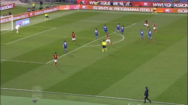 Serie A Round 24: Roma 2-1 Sampdoria