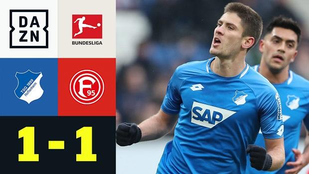 Bundesliga: TSG Hoffenheim - Fortuna Düsseldorf | DAZN Highlights