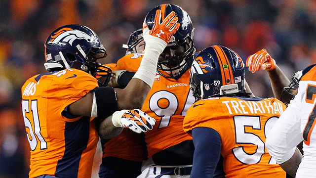 Top 10 Broncos defensive plays of 2015