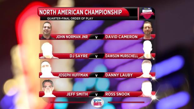 U.S. Darts Masters - Tag 1