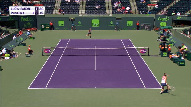 Miami: Pliskova bärenstark ins Halbfinale