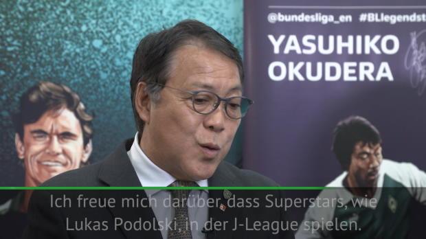 J-League: Okudera: Podolski große Bereicherung