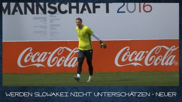 EM in 60 Sekunden: Neuer Rasen für DFB-Team