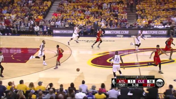 WSC: LeBron James mit 25 Punkten gegen die Hawks