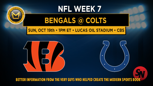 Cincinnati Bengals @ Indianapolis Colts