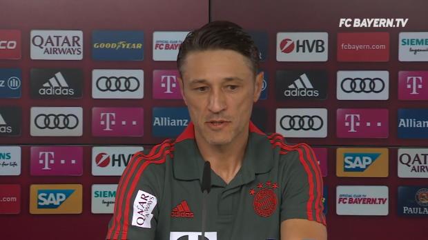 "Kovac zu Transfers: ""Stand jetzt nichts Neues"""