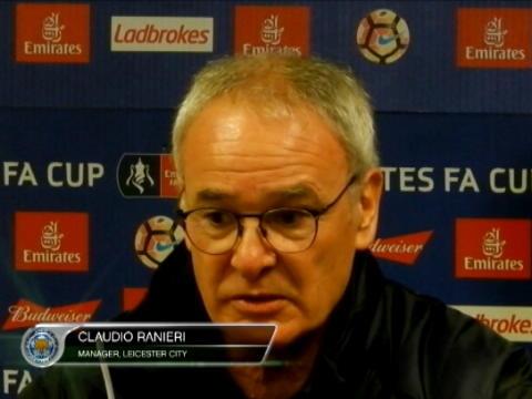 كرة قدم: كأس الإتحاد الإنكليزي: رانييري يدافع عن خياراته التكتيكيّة
