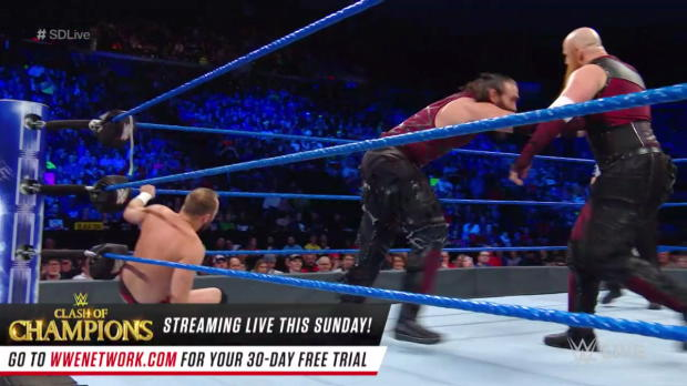 The Bludgeon Brothers vs. Colin Delaney & Joe Monroe: SmackDown LIVE, Dec. 12, 2017