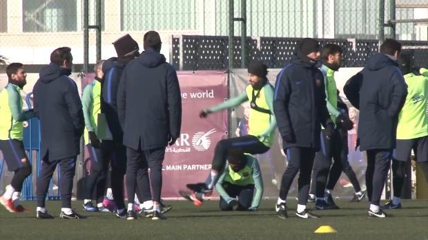 Barca-Gaudi! Neymar und Suarez ärgern Pique
