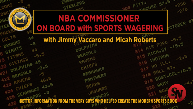 NBA Commissioner on Board with Sports Betting