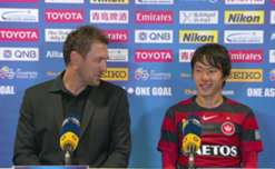 Wanderers boss Tony Popovic and winger Jumpei Kusukami dissect the ACL win over Shanghai SIPG.
