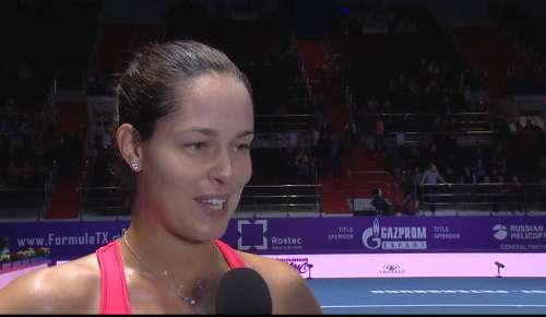 Ivanovic Interview: WTA St Petersburg 2R