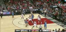NBA : Thunder 89-106 Trail Blazers
