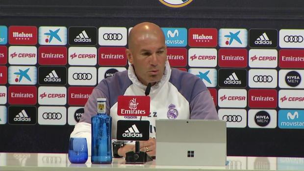 """Zidane über Clasico: """"Geben alles für Sieg"""""""