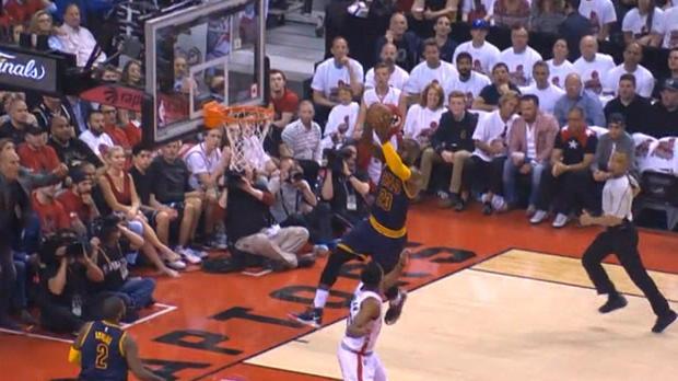 Basket : NBA - L'action qui tue - Le patron, c'est LeBron !