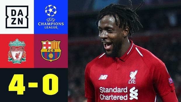 UEFA Champions League: Liverpool - Barcelona | DAZN Highlights