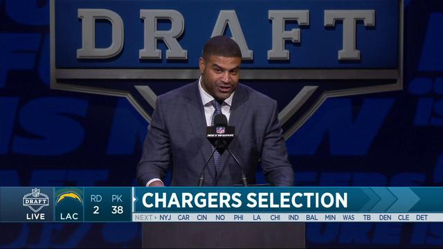 Chargers select Forrest Lamp No. 39