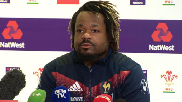 """Rugby : Six Nations - Bastareaud - """"On a envie d'avoir une bonne note"""""""