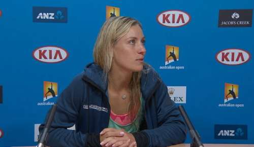 Kerber Interview: Australian Open Final