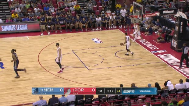 WSC: Kobi Simmons (23 points) Highlights vs. Portland Trail Blazers