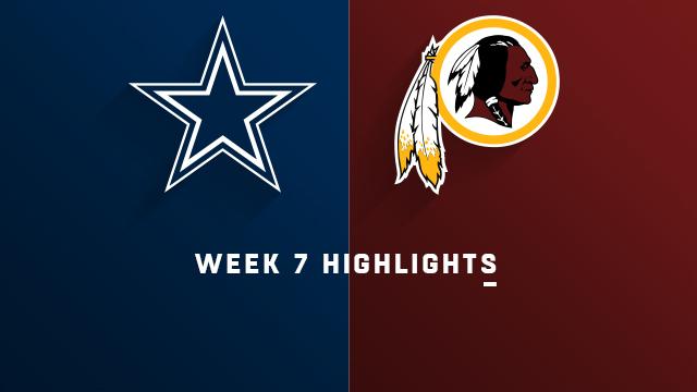 Cowboys vs. Redskins highlights | Week 7
