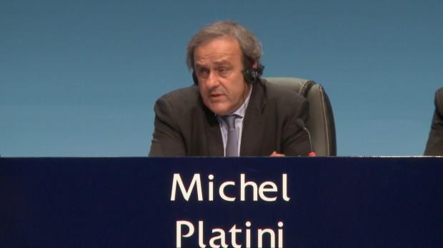 """FIFA: Platini: """"Zeit für frischen Wind"""""""