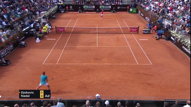 Rome - Nadal remporte son 1er titre de la saison