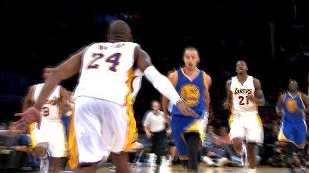 Basket : NBA - Warriors - La passe géniale de Curry