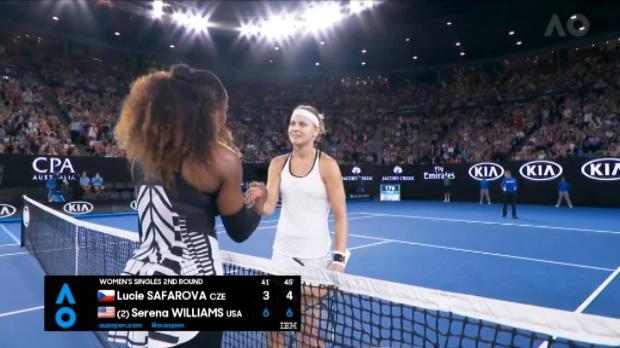 تنس: بطولة أستراليا المفتوحة: سيرينا تصعق سافاروفا وتبلغ الدور الثالث عن جدارة