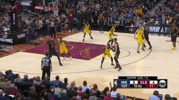 WSC: LeBron James 46 points vs the Pacers