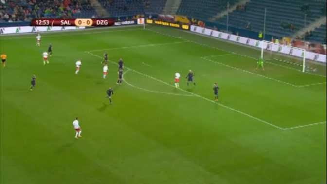L.Europa : Red Bull Salzbourg 4-2 Dinamo Zagreb