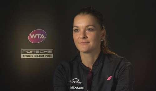 Radwanska Interview: WTA Stuttgart 2R