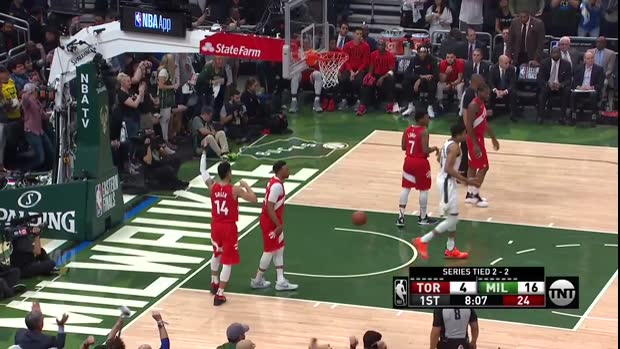 WSC: Kawhi Leonard, Giannis Antetokounmpo Highlights from Milwaukee Bucks vs. Toronto Raptors