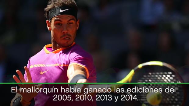 Nadal gana su máster 1.000 número 30, e iguala el récord de Djokovic