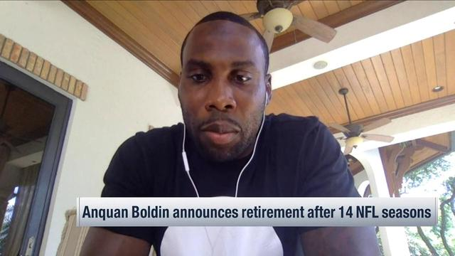Anquan Boldin talks life after football: Athletes are 'carrying that torch'