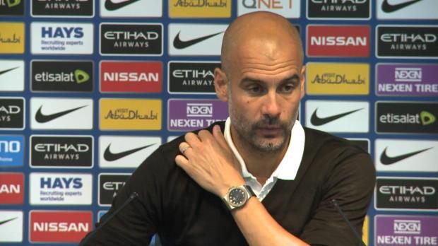 """Guardiola verärgert: """"Wollten gut starten"""""""