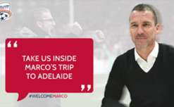 Adelaide United Head of Football Operations, Ante Kovacevic, talks about Marco Kurz' visit to Adelaide.